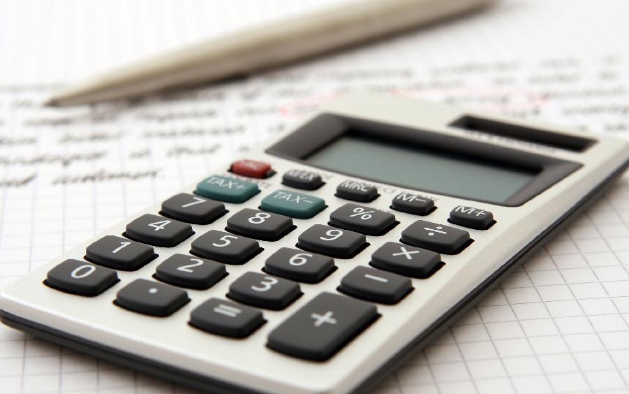 Une calculette représentant notre fonction de comptabilité.